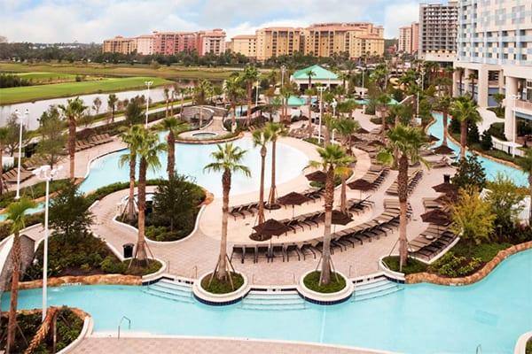 Hilton Bonnet Creek Resort in Orlando, Florida
