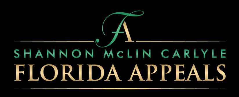 Shannon McLin Carlyle Florida Appeals