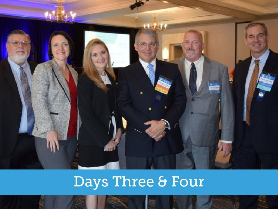2019 TRIAL ADVOCACY WORKSHOP – DAYS THREE & FOUR – six members posing for photo